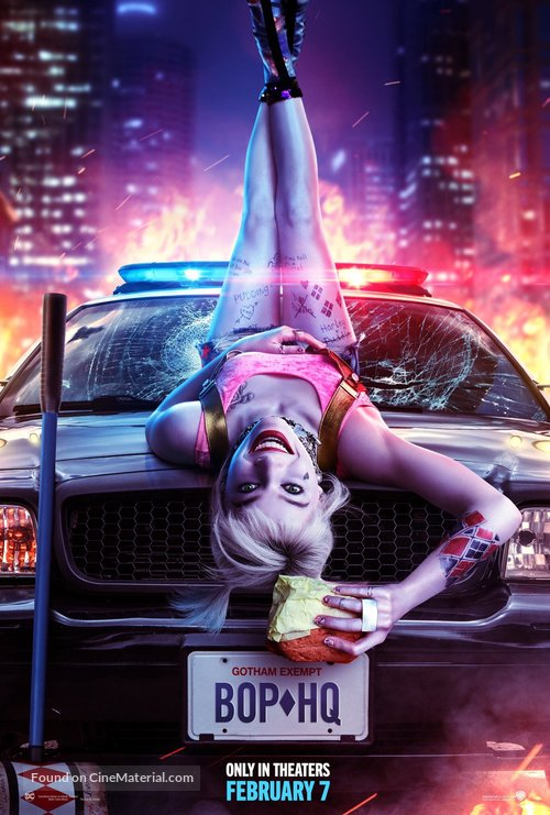 Harley Quinn: Birds of Prey - Movie Poster