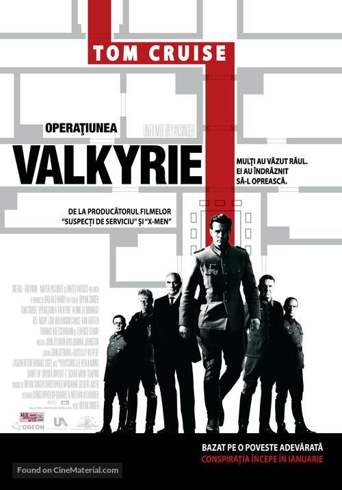 Valkyrie - Romanian Movie Poster