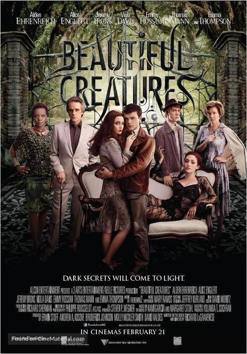 Beautiful Creatures - New Zealand Movie Poster