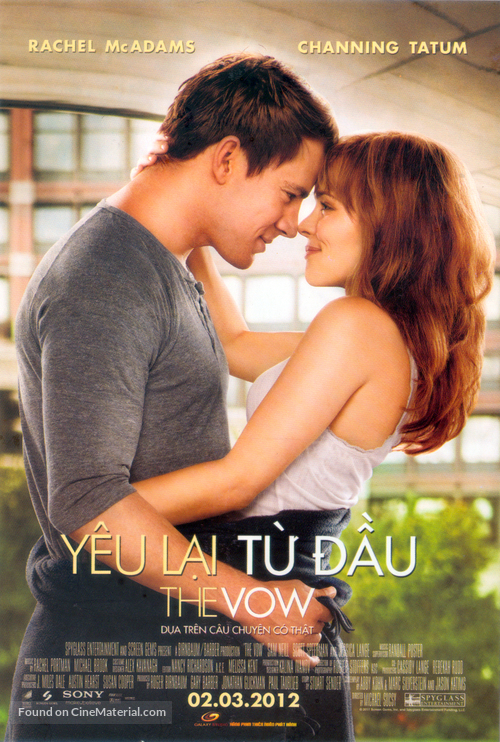 The Vow - Vietnamese Movie Poster