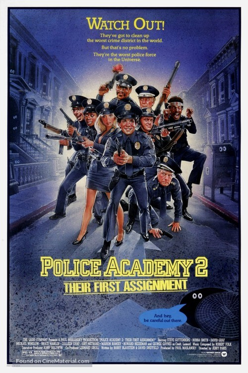 Police Academy 2: Their First Assignment - Movie Poster