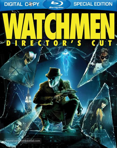 Watchmen - Blu-Ray movie cover