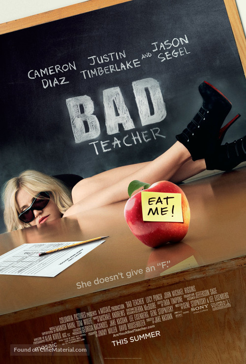 Bad Teacher - Movie Poster