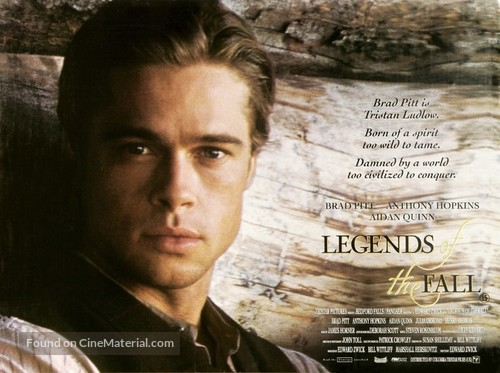 Legends Of The Fall - British Movie Poster