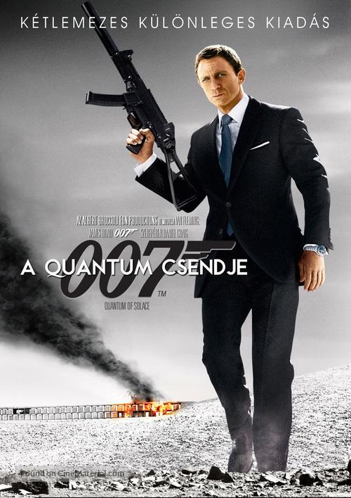 Quantum of Solace - Hungarian Movie Cover