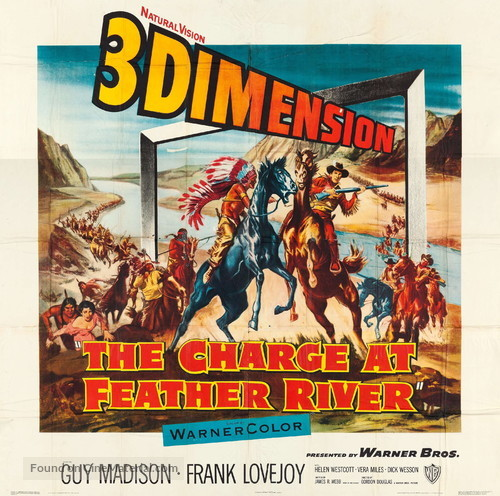 The Charge at Feather River - Movie Poster