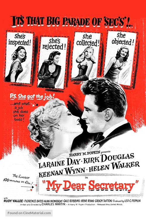 My Dear Secretary - Movie Poster