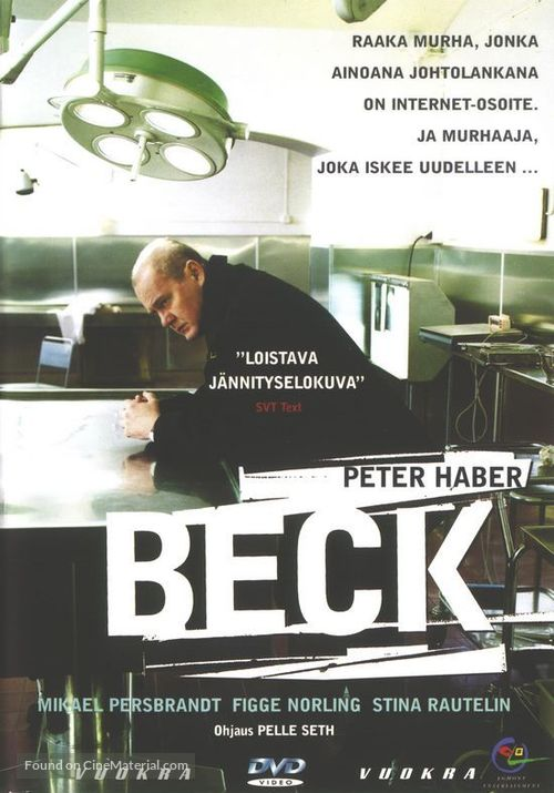 """""""Beck"""" - Finnish Movie Cover"""