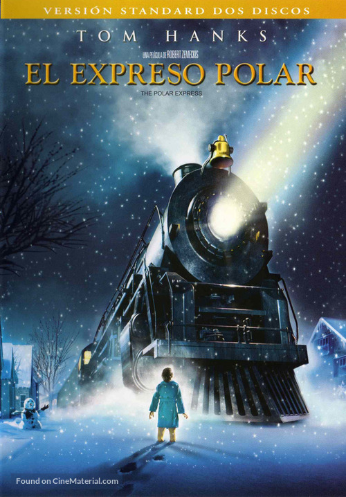The Polar Express - Spanish DVD movie cover