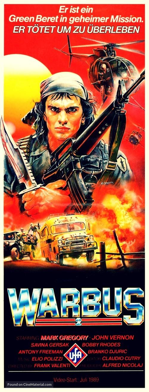 Afganistan - The last war bus (L'ultimo bus di guerra) - German Movie Poster