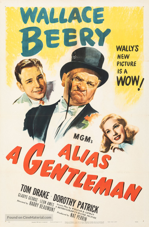 Alias a Gentleman - Movie Poster