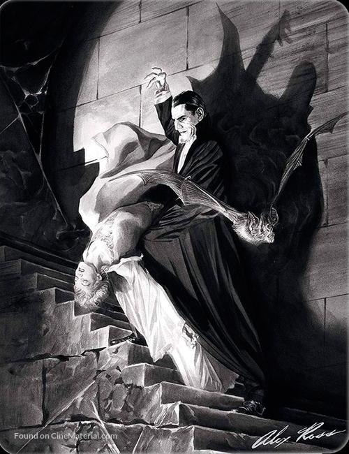 Dracula - Spanish Blu-Ray movie cover