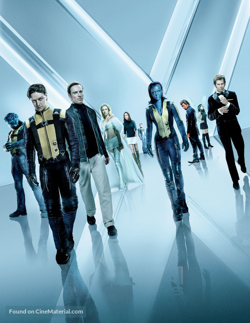 X-Men: First Class - Key art