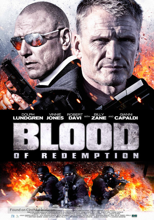 Blood of Redemption - Bahraini Theatrical movie poster