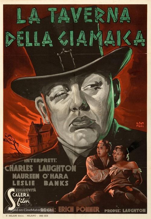 Jamaica Inn - Italian Movie Poster