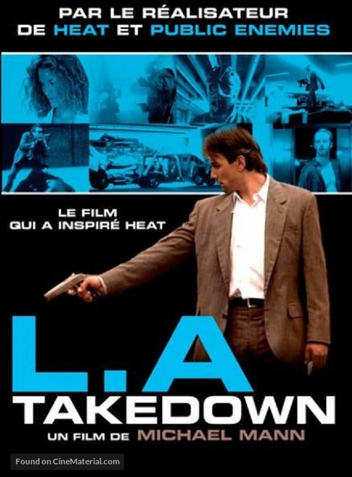 L.A. Takedown - French DVD movie cover