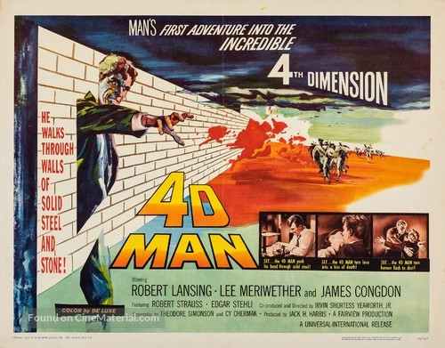 4D Man - Movie Poster
