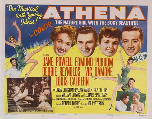Athena (1954) movie poster