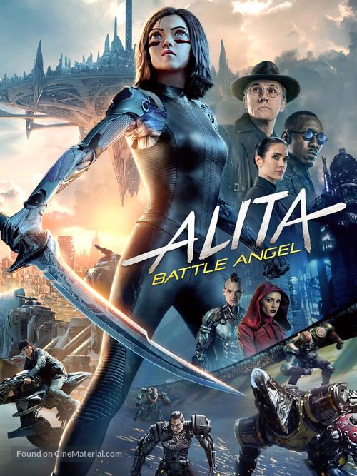 Alita: Battle Angel - Movie Cover