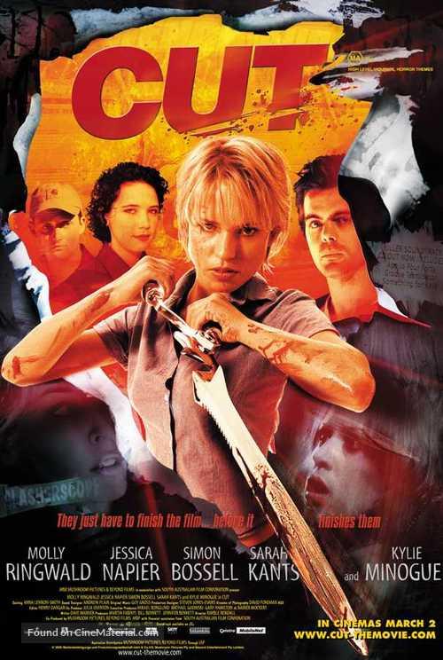 Cut - Australian Movie Poster