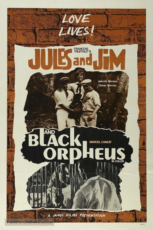 Jules Et Jim - Combo movie poster
