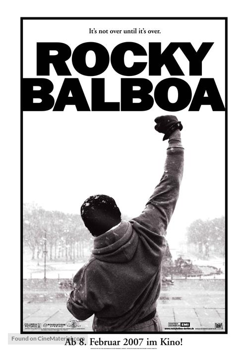 Rocky Balboa - German Movie Poster