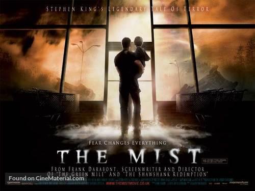 The Mist - British Movie Poster