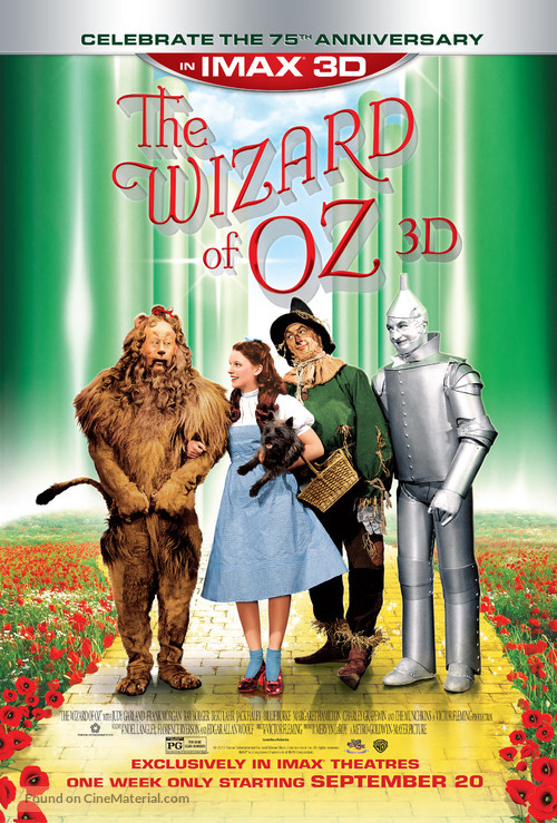 The Wizard of Oz - Re-release movie poster