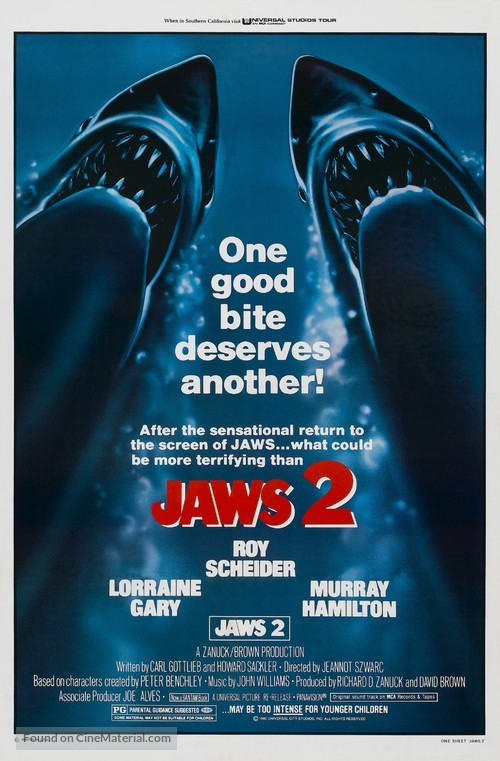 Jaws 2 - Movie Poster