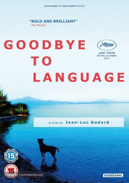 Adieu au langage - British DVD movie cover