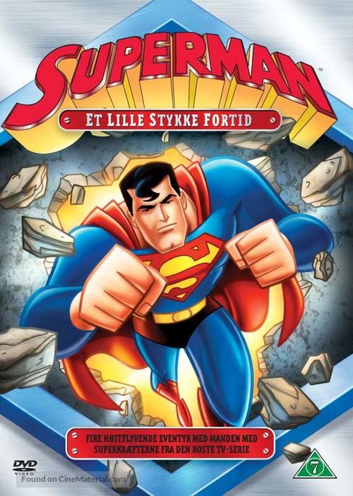"""Superman"" - Danish DVD movie cover"