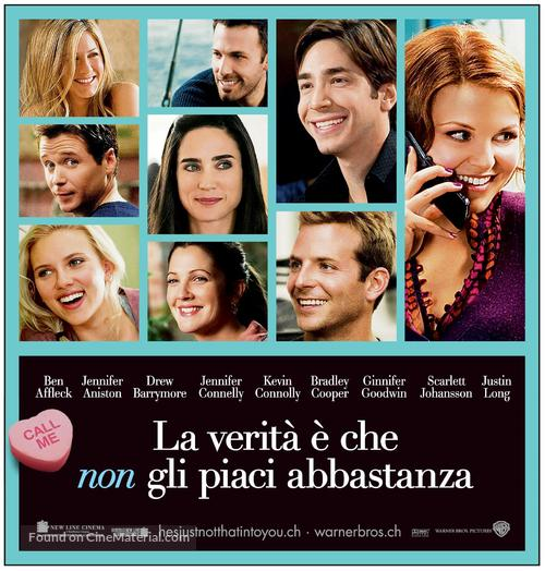 He's Just Not That Into You - Swiss Movie Poster