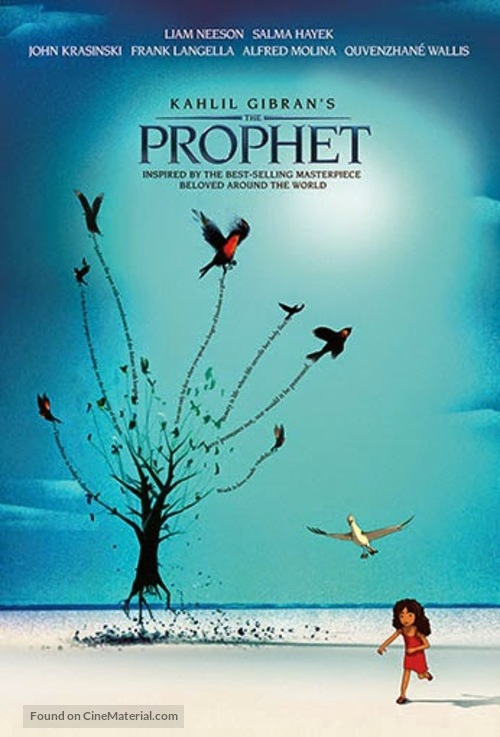 Kahlil Gibran's The Prophet - Movie Poster