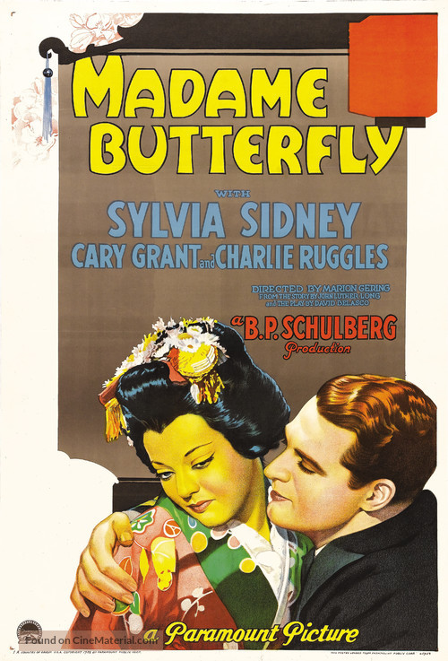 Madame Butterfly - Movie Poster