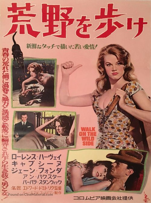 Walk on the Wild Side - Japanese Movie Poster