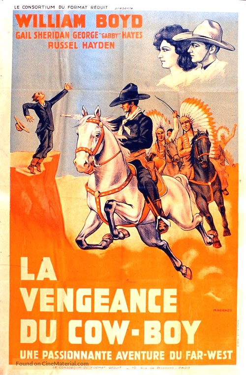 Hills of Old Wyoming - French Movie Poster