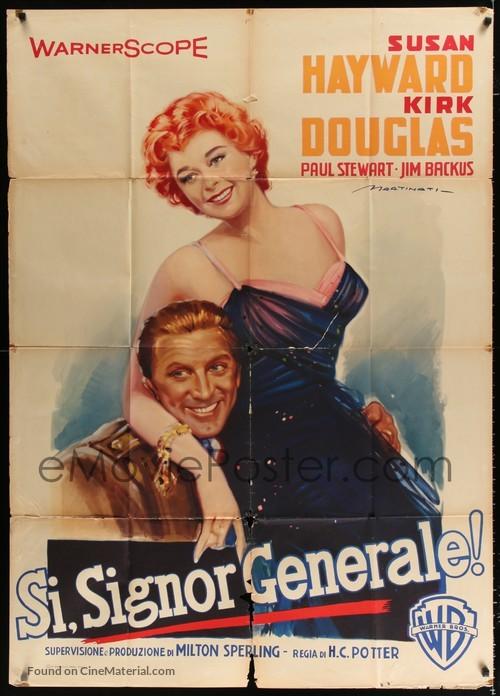 Top Secret Affair - Italian Movie Poster