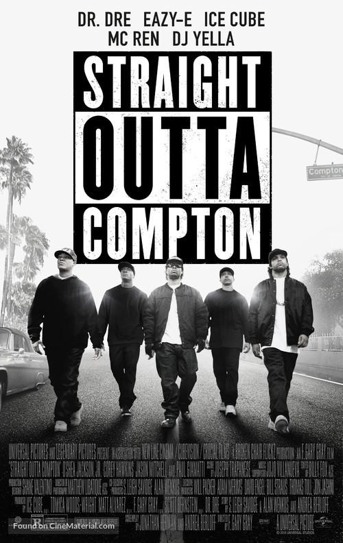 Straight Outta Compton - Movie Poster