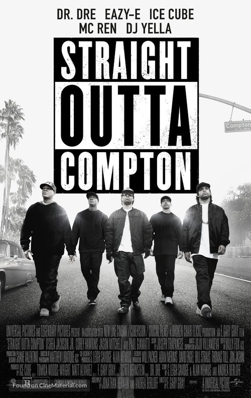 Straight Outta Compton - Movie Poster