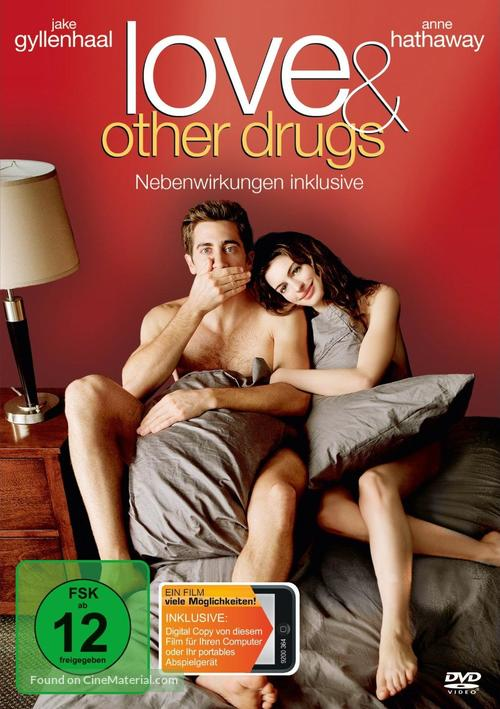 Love and Other Drugs - German DVD movie cover