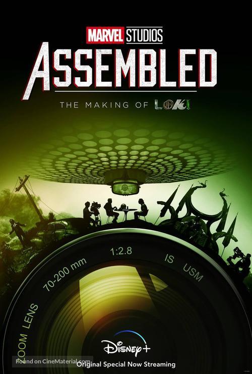 """Marvel Studios: Assembled"" - Movie Poster"