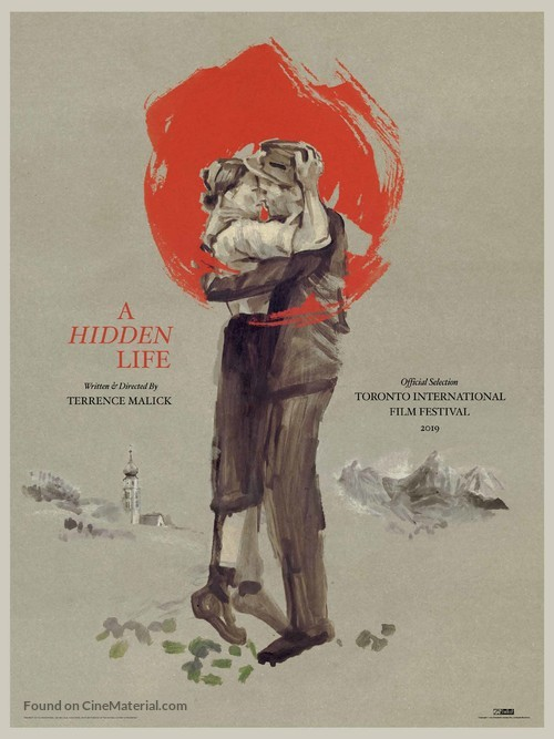 A Hidden Life - Canadian Movie Poster