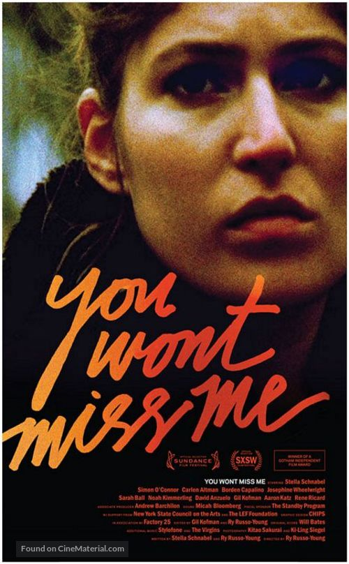 You Wont Miss Me - Movie Poster