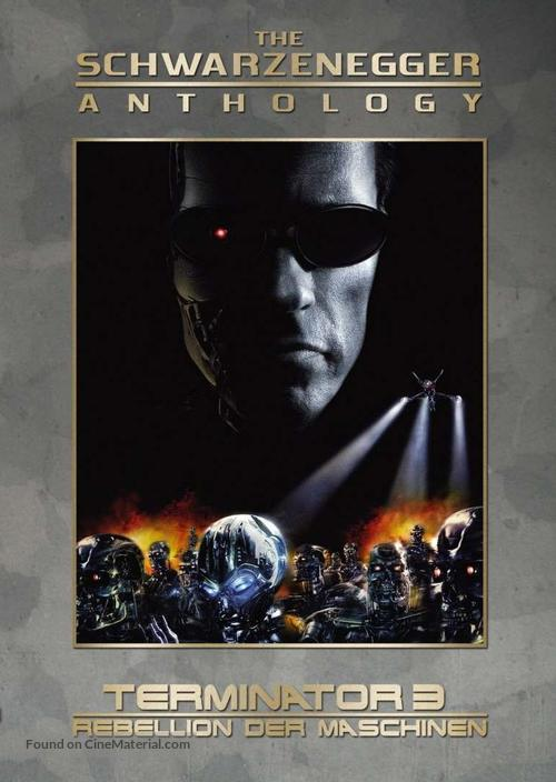 Terminator 3: Rise of the Machines - German Movie Cover