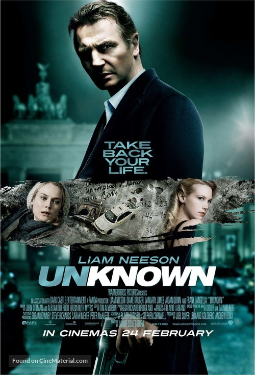 Unknown - Singaporean Movie Poster