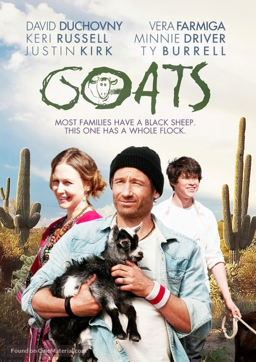 Goats - DVD movie cover