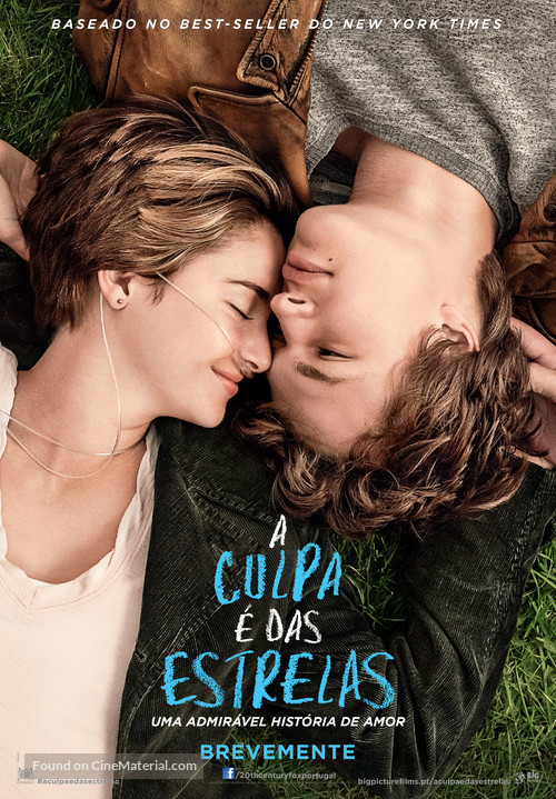 The Fault in Our Stars - Portuguese Movie Poster