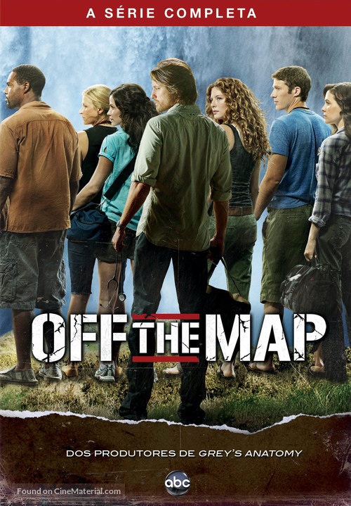 """""""Off the Map"""" - Brazilian DVD cover"""