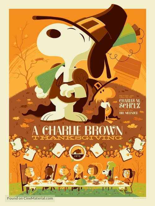 A Charlie Brown Thanksgiving - Movie Poster