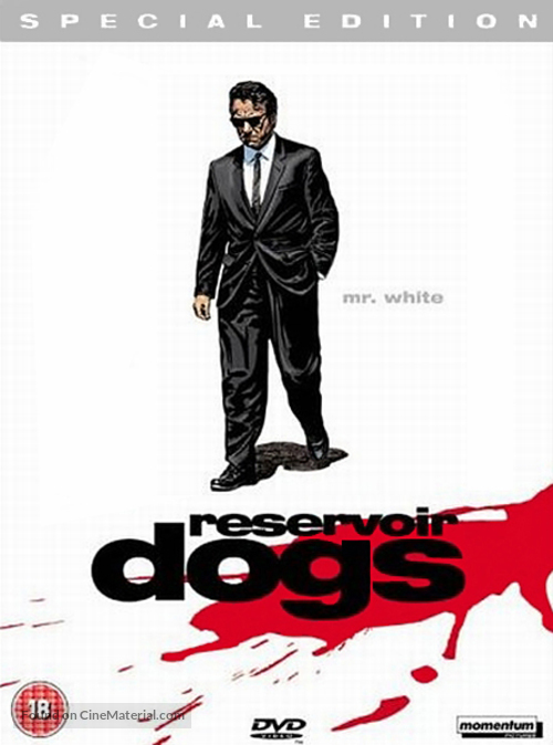 Reservoir Dogs - British Movie Cover